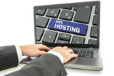 how to find website hosting company