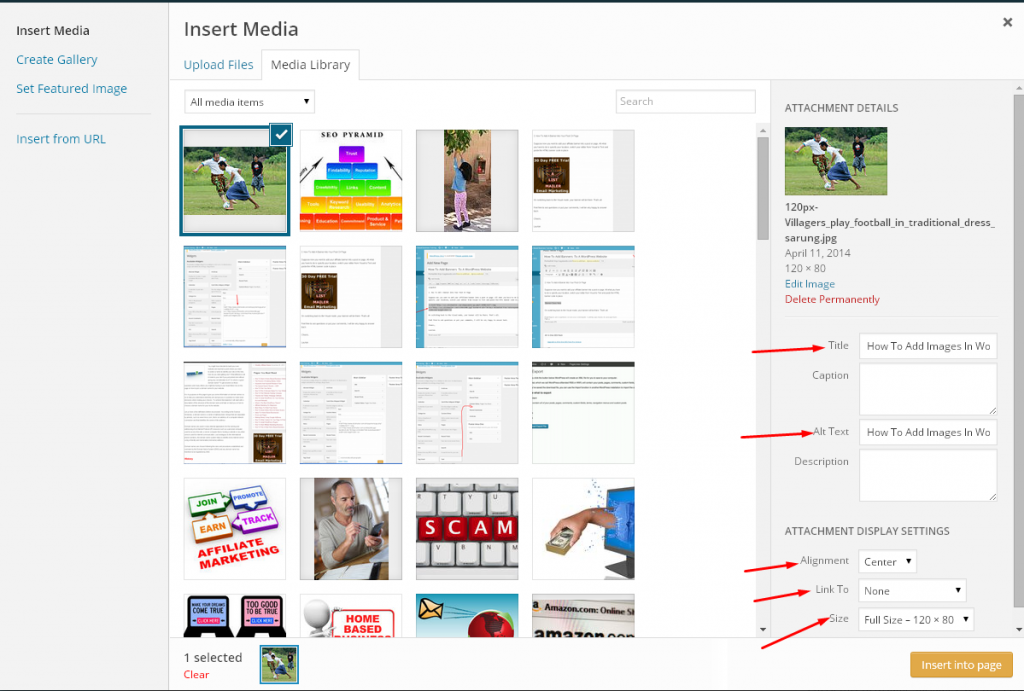 How To Add Images In WordPress