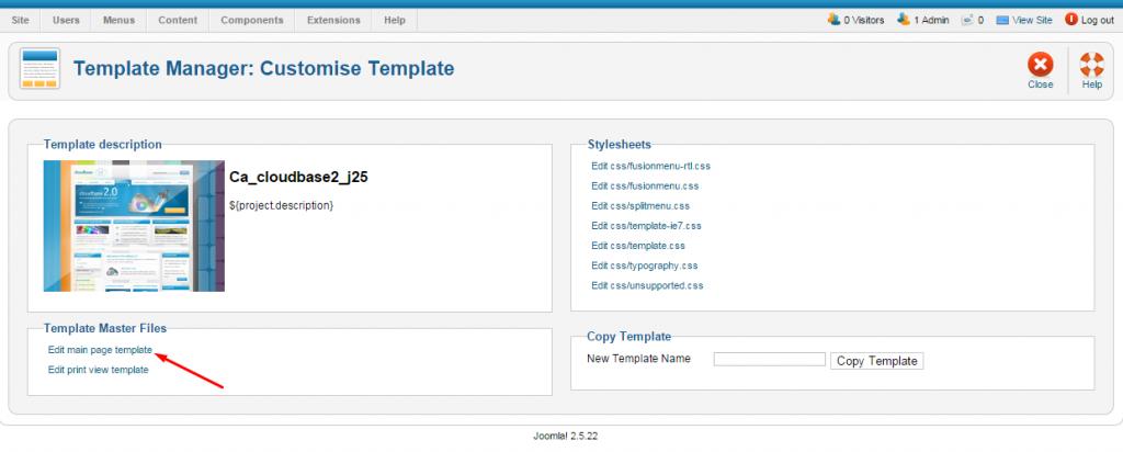 adding Analytics to joomla website